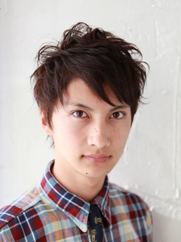 【日系風格】質感棕紅型男髮型髮色A-1