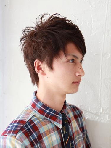 【日系風格】質感棕紅型男髮型髮色A-2