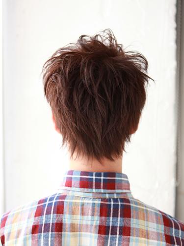 【日系風格】質感棕紅型男髮型髮色A-3