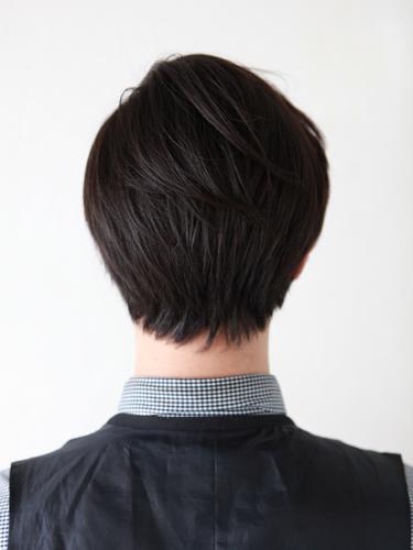 提高側剪的時尚風格男生髮型A-3
