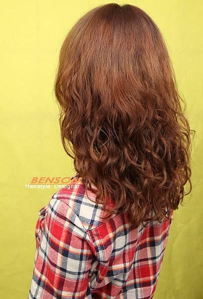 【麻吉客人】婉瑜亮麗髮型髮色專屬-西門町髮型師benson