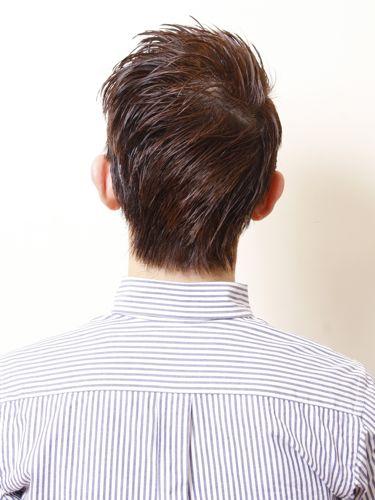 卓越清晰感油頭髮型A-3-西門町髮型師benson分享