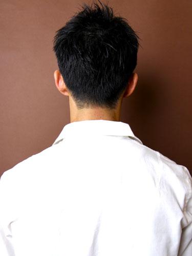 時尚休閒風格短髮型A-3-西門町髮型師benson分享