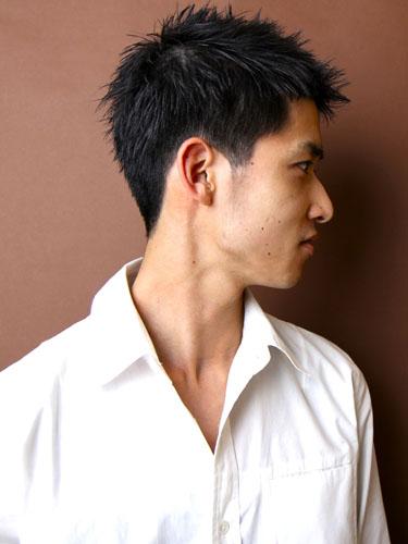 時尚休閒風格短髮型A-2-西門町髮型師benson分享