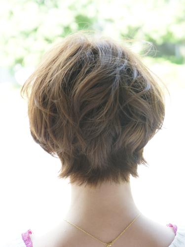 小臉蛋呈現短髮造型A-3-西門町髮型師benson分享