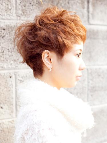 貝瑞時髦感可愛短髮髮型A-2-西門町髮型師benson分享