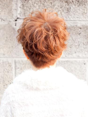 貝瑞時髦感可愛短髮髮型A-3-西門町髮型師benson分享