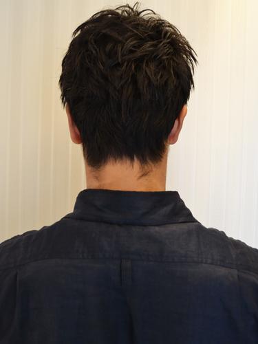 【王者風格】俐落感混搭燙髮短瀏海設計A-3
