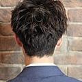 日系感冬季時尚型男捲燙髮造型A-3