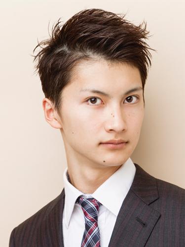 短髮風格清爽迷人男性髮型A-1