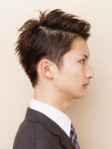 短髮風格清爽迷人男性髮型A-2