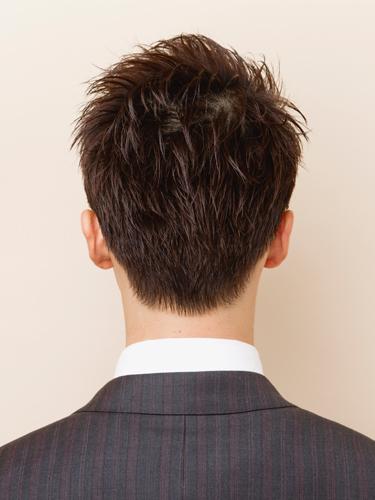 短髮風格清爽迷人男性髮型A-3