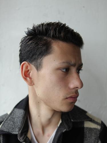 短髮乾淨俐落男性型男髮型A-2