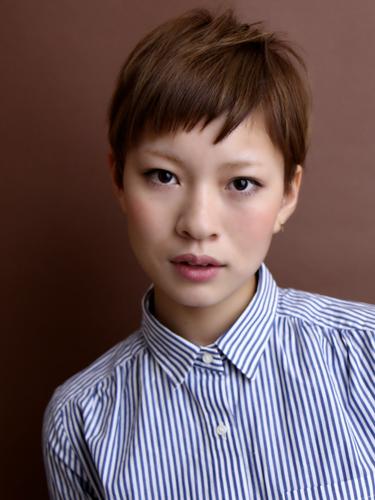 率性幹練女性風格短髮髮型A-1