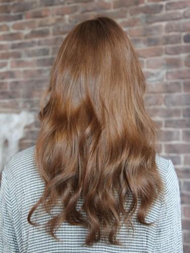 閃亮可愛的鬆軟燙髮風格-蜂蜜焦糖米色髮型A-3