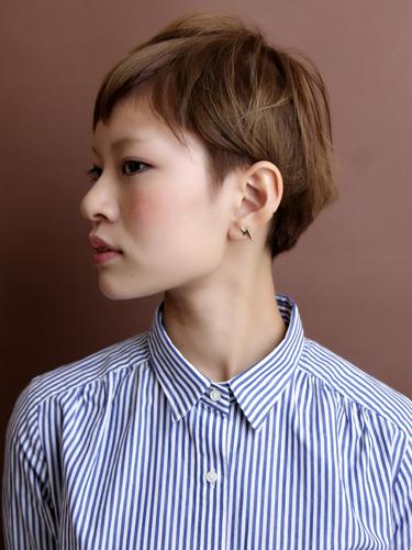率性幹練女性風格短髮髮型A-2