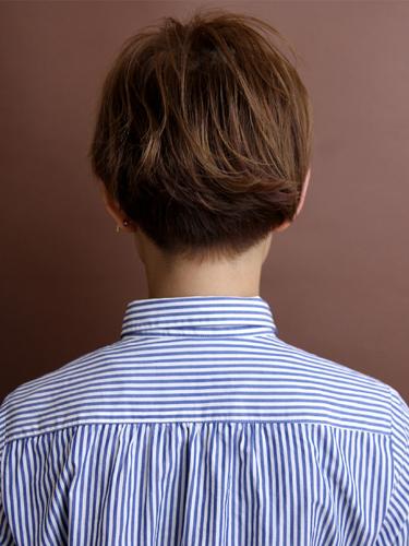 率性幹練女性風格短髮髮型A-3