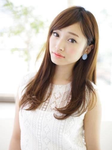 韓風日系傻傻分不清楚-氣質迷人女生長髮型A-1