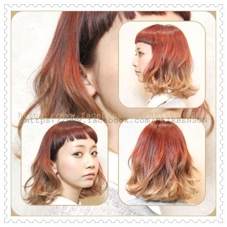 2013年日系風格髮型-西門町髮型師班森BENSON分享