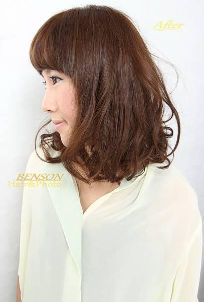 2013春季推薦自然風格結合時尚的流行髮型-西門町髮型師班森/尚洋髮藝