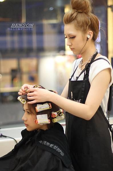 亮麗感潮流短髮型燙染全新改造-西門町髮型師班森@尚洋髮藝成都店