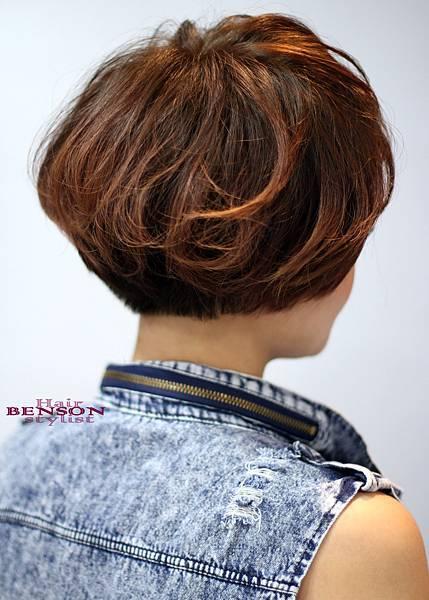 2013流行髮型~簡潔清爽的率性美感~西門町髮型設計BENSON班森