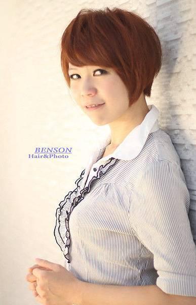 2013流行髮型~素人大改造~知性OL職場美人~西門町髮型BENSON