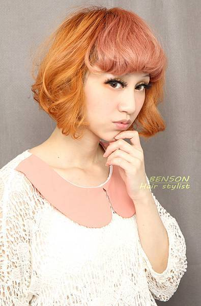 2013流行髮型~西門町髮型師BENSON