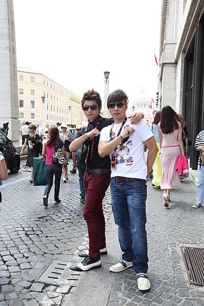 BENSON&BENNY IN ROMA.JPG