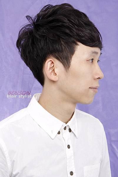 男生空氣燙髮型