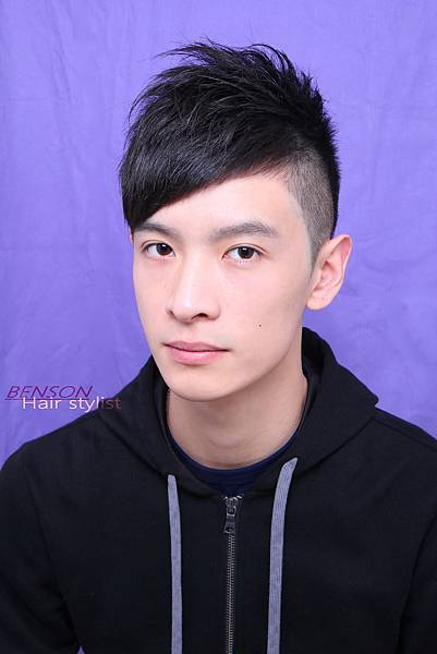 型男斜劉海
