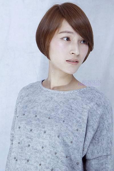 女藝人明星臉短髮