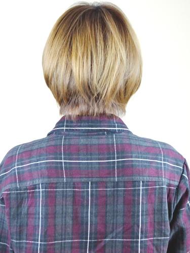 日系甜蜜可愛感的亞麻色髮型-2014女性短髮捲起風潮-3