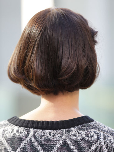 有吸引力的日系俏皮風格-2014女性短髮捲起風潮-3