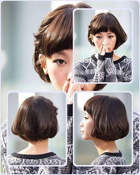 有吸引力的日系俏皮風格-2014女性短髮捲起風潮