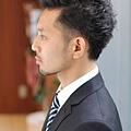 流行與商務感共好的男髮型A-3