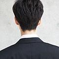 都系韓風厚瀏海商務男髮型A-3