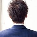 適合眼鏡的商務專業風格髮型A-3