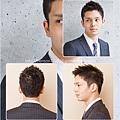 活力朝氣的極短髮商務髮型