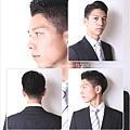 經典短髮商務髮型