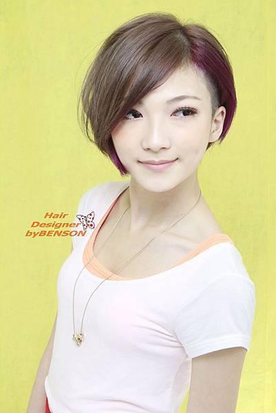 微輕熟女短髮型