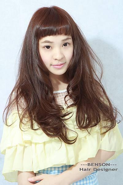 日系短劉海髮型