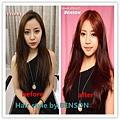 韓系性感莓果棕髮色 長髮
