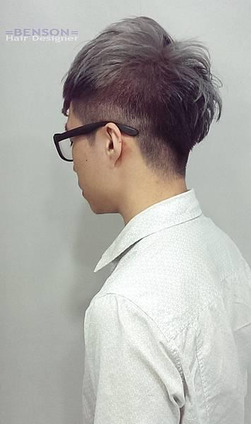 二分區個性髮型
