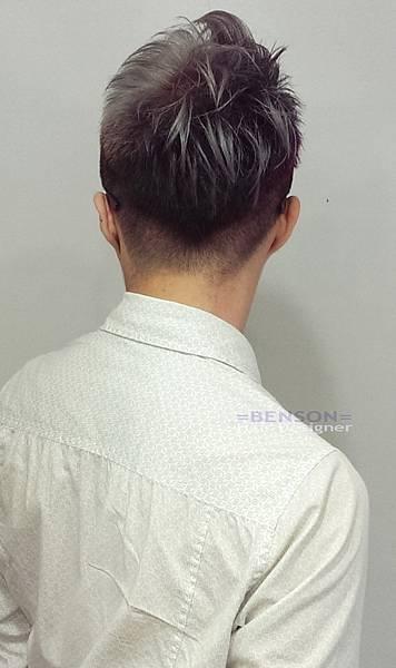 俐落修飾頭型