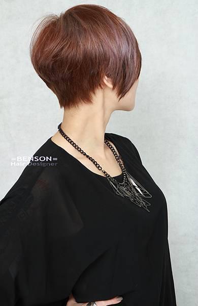 立體美短髮