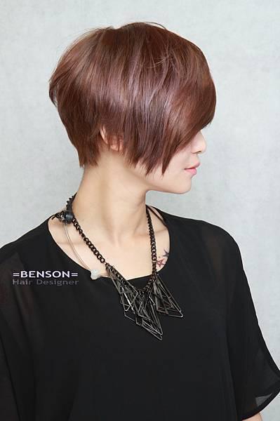 紫灰光感設計染髮