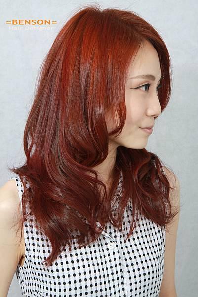 橘色調挑染流行髮型.jpg