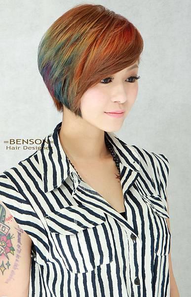 2015繽紛髮色