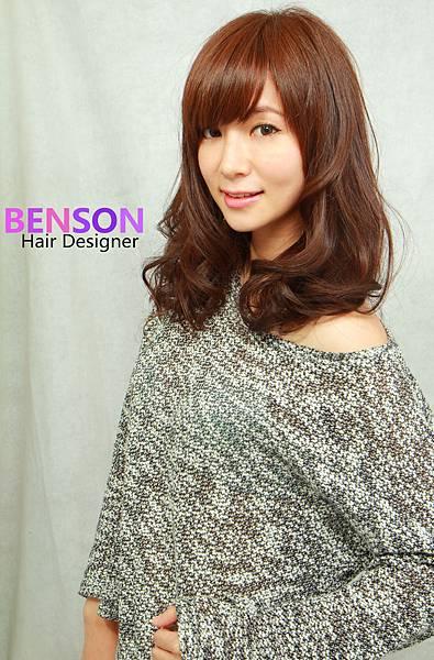 2014秋冬流行髮型中長髮